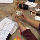 Sport Bewegung Zeichnung -Workshop mit Studierenden der Carl von Ossietzky Universität